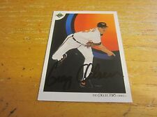 Gregg Olson Autographed Signed 1991 Upper Deck #47 Card MLB Baltimore Orioles