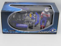 1:10 Solido Kart Sodi Kart+Driver Figure Blue