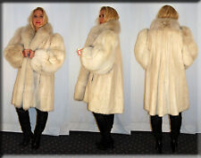 New Blush Fox and Blush Mink Fur Coat Size 2XL 2 Extra Large 18 20 Efurs4less