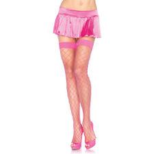 Medias y calcetines de mujer rosas de nailon