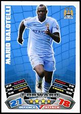 Mario Balotelli #161 TOPPS MATCH ATTAX FOOTBALL 2011-12 TRADE card (c208)