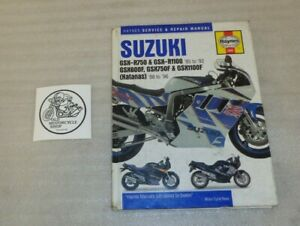 Gsxr750 Motorcycle Service Repair Manuals For Sale Ebay