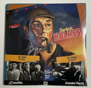 Sherlock Holmes: The House of Fear & The Woman in Green  2LD Laserdisc SEALED