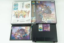 Fighters History Dynamite AES Snk Neogeo Box From Japan
