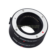 Auto Focus AF Macro Extension Tube 10+16mm for Canon EOS M EF-M M2 M3 M5 M6 M100