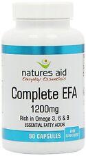 Natures Aid-Completa EFA 1200mg (ácidos grasos esenciales) 90 cápsulas blandas