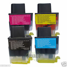 4 Pack LC41 Compatible ink cartridge for Brother MFC-210C MFC-420CN MFC-620CN