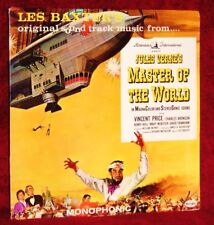 OST MASTER OF THE WORLD LES BAXTER 1961 VEE JAY SEALED
