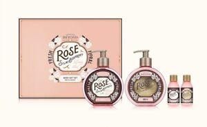 New BEYOND Rose Silk-Bouquet Body Care Set Moisture 4Item Korea Beauty Cosmetics