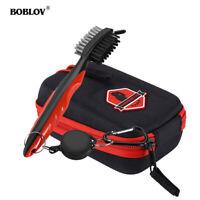 BOBLOV Golf Rangefinder Case Carry Bag Pouch EVA Hard Cover With Golf Club Brush