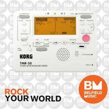 Korg TMR50 Tuner Metronome Recorder White TMR-50 - All in One - BNIB - BM