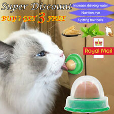 Healthy Cat Solid Nutrition Snacks Catnip Sugar Candy Energy Ball&Licking Toy