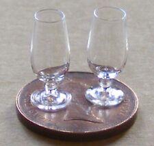 1:12 escala 2 claro Copas De Vino Casa De Muñecas En Miniatura Bebida Accesorio GLA31