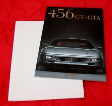 Ferrari 456 GT+GTA - VERY RARE Full Colour Brochure 1997 - Ita/Eng/Fra/Ger Text