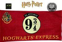 Harry Potter - Toalla de Baño Mano - Platform 9 3/4 - 150x75cm - Nuevo / Caja