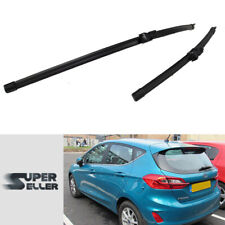 2pcs Windshield Wiper Blades for Ford Fiesta MK7 3D 5D Hatchback 2018-on