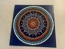 Hand crafted Mandala Dot Painting