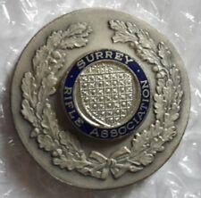 Medalla de la Asociación de medalla Surrey rifle-Plata