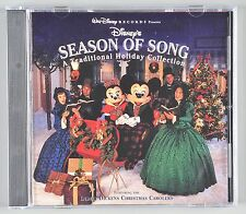 Walt Disney's Season of Song Christmas CD 1995 60843-7 25 Tracks 1995