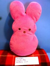 Just Born Peep Pink Bunny squeaking plush (310-3224)