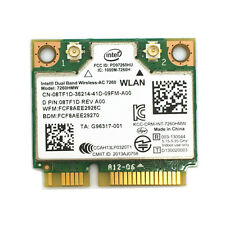 Dell Latitude E7440 E7240 WIFI DualBand Wireless-AC 7260 8TF1D 7260HMW WLAN Card