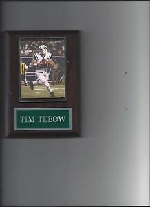 TIM TEBOW PLAQUE NEW YORK JETS NY FOOTBALL NFL