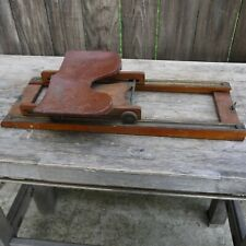 antique wooden slider seat for a  row boat nautical boat parts