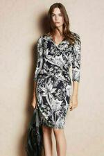 Phase Eight Berkley Navy Blue Floral Print Jersey Dress UK 10 EU 38 US 6