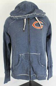 Mitchell & Ness Throwback Youth 2XL XXL Chicago Bears Hooded Sweatshirt Full Zip
