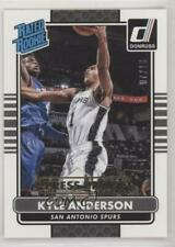 2014-15 Panini Donruss Press Proof Gold /10 Kyle Anderson #223 Rookie
