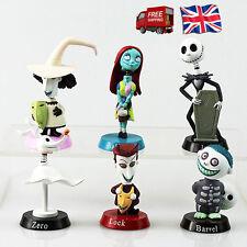 6 full set Nightmare Before Christmas Jack Skellington Action Figure Toy