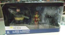 "DC BATMAN ANIMATED SERIES DARK KNIGHT ROBIN 6"" ACTION FIGURES 3-PACK 2017"
