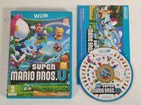 New Super Mario Bros U -- Nintendo Wii U -- UK Seller