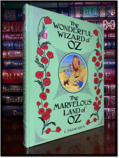 The Wonderful Wizard Of Oz & Marvelous Land of Oz by L. Frank Baum Gift Edition