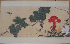 1910 Shimb Shoin Japanese Art Postcard: Hoitsu, 1761-28