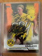 Topps BVB Borussia Dortmund Team 20/21 Parallel Insert Erling Haaland 221/499