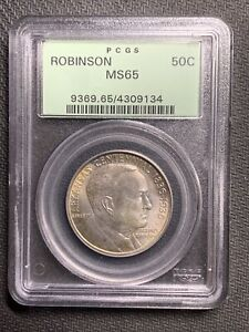 1936 Robinson 50c PCGS MS65 OGH *Nice Coin & No Reserve!