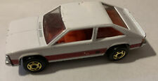 Vintage 1980 Hot Wheels die-cast car, Chevy Citation X11, White