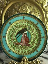"New Rosenthal Versace 1995 L'Ange Gabriel 12"" Decorative Christmas Plate"