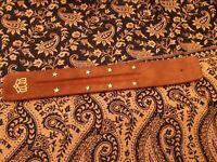 Porte encens en bois artisanat d'Inde avec décorations