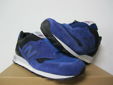 New Balance 577 MADE IN ENGLAND Blue Black White Size 7 M577SBK