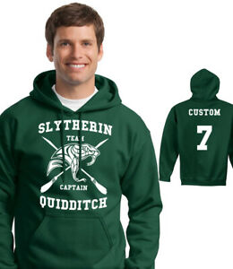 HARRY POTTER HOODIE - ADULT, KIDS - SLYTHERIN QUIDDITCH