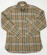 Vintage Burberry Long Sleeve Nova Check Shirt -size Large L