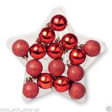 Décorations de sapin de Noël cadeau rouge