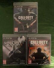 Pack Saga Call Of Duty: Black OPS 1,2 y 3 PS3 PRECINTADOS!!