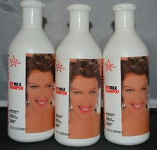 Healthy Sexy Hair Soy Milk Shampoo 13.5oz (3 pack) Color Safe