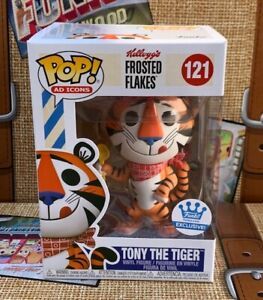 *IN HAND* FUNKO POP KELLOG'S FROSTED FLAKES TONY THE TIGER #121 W/ PROTECTOR