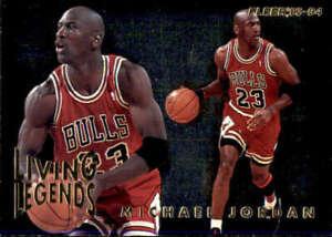 1993-94 Fleer #4 MICHAEL JORDAN  Living Legends Chicago Bulls