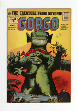 GORGO #9  - VERY NICE BOOK - VERY RARE ISSUE: 1ONLY 2 on CGC - 1962 CHARLTON