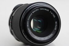 [EXCELLENT+++] PENTAX Super Multi Coated Macro Takumar 100mm F/4 SMC #7731